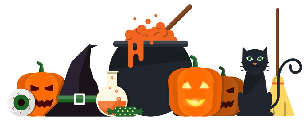 hallowen-flat-designed-banners-2