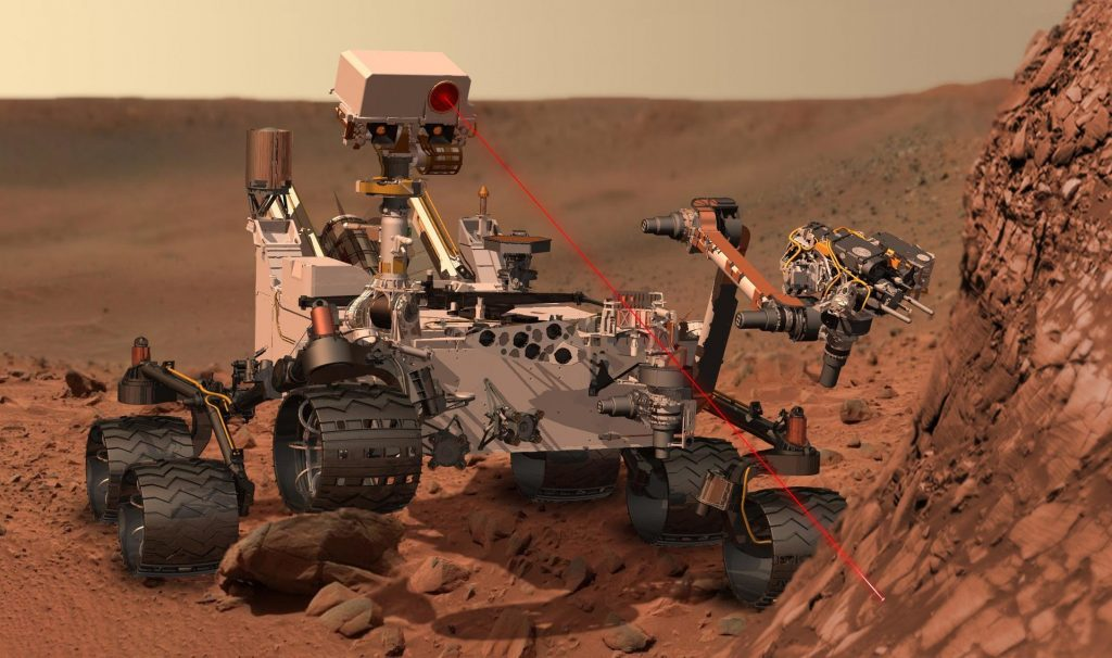 NASA has sent four rovers to the planet Mars.  The first was Sojouner, followed by the twin rovers Spirit and Opportunity and the last was Curiosity. NASA will send a 5th rover in 2020.