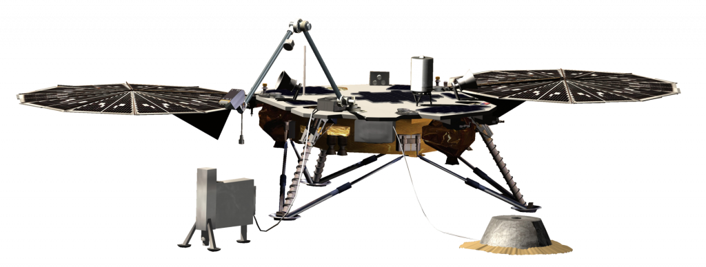 On May 5 NASA will launch the next Mars lander called InSight. This mission is intended to study the crust, mantle and core of Mars.  This is the first robotic mission to study the interior of Mars.