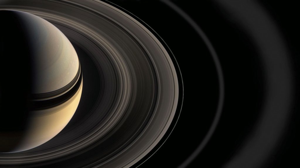 Recently it has been discovered that Saturn's rings may rain organic material such as methane into the atmosphere of the Saturn.