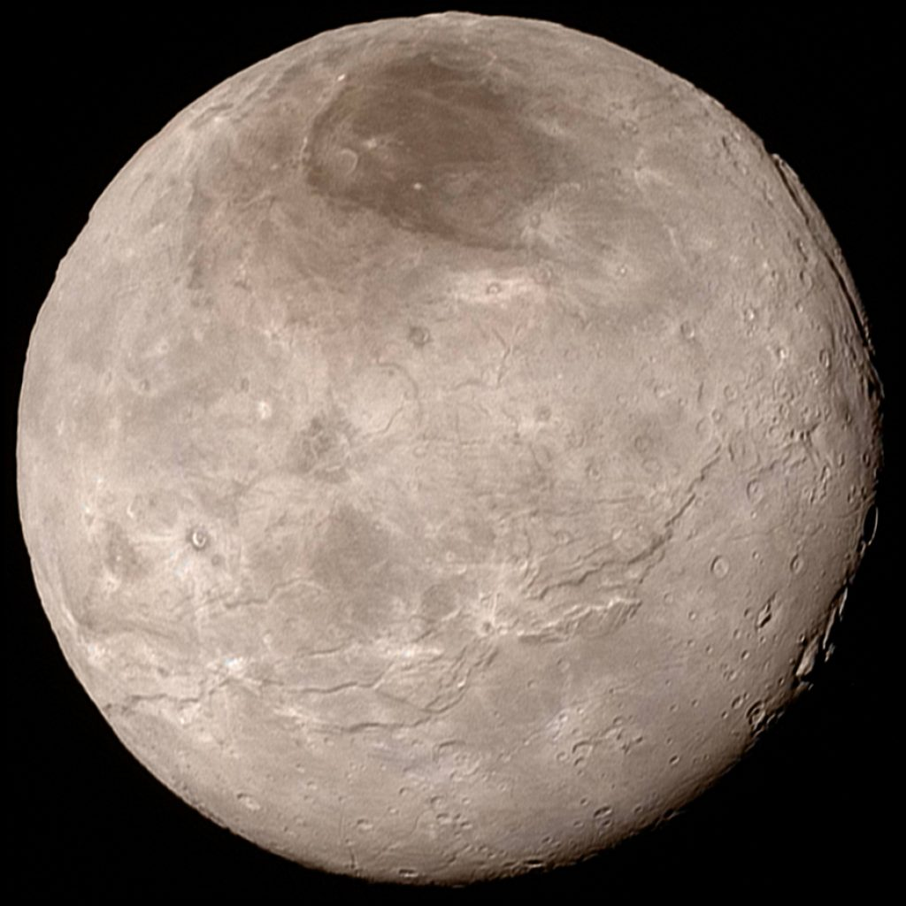 On this date in 1978, Pluto's moon, Charon was discovered by James Christy.  Today we know Pluto has 5 moons; Charon, Hydra, Nix, Kerberos and Styx.