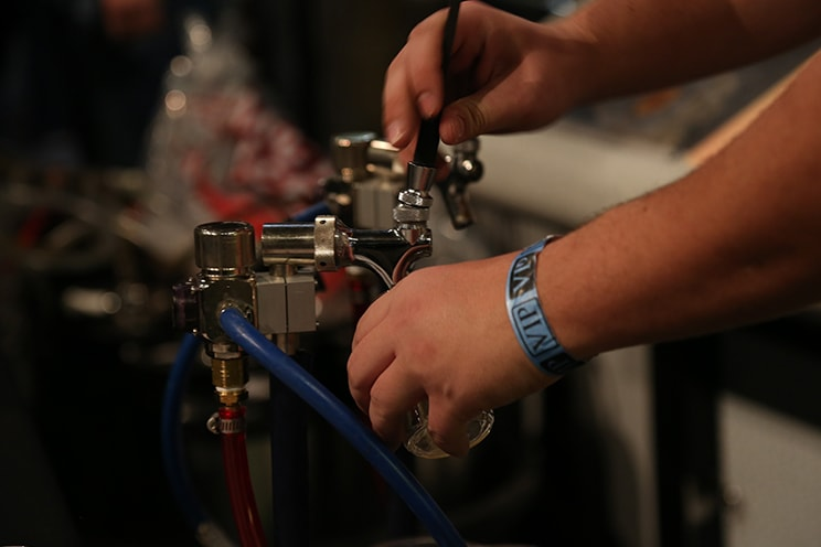Taps at Science On Tap Event