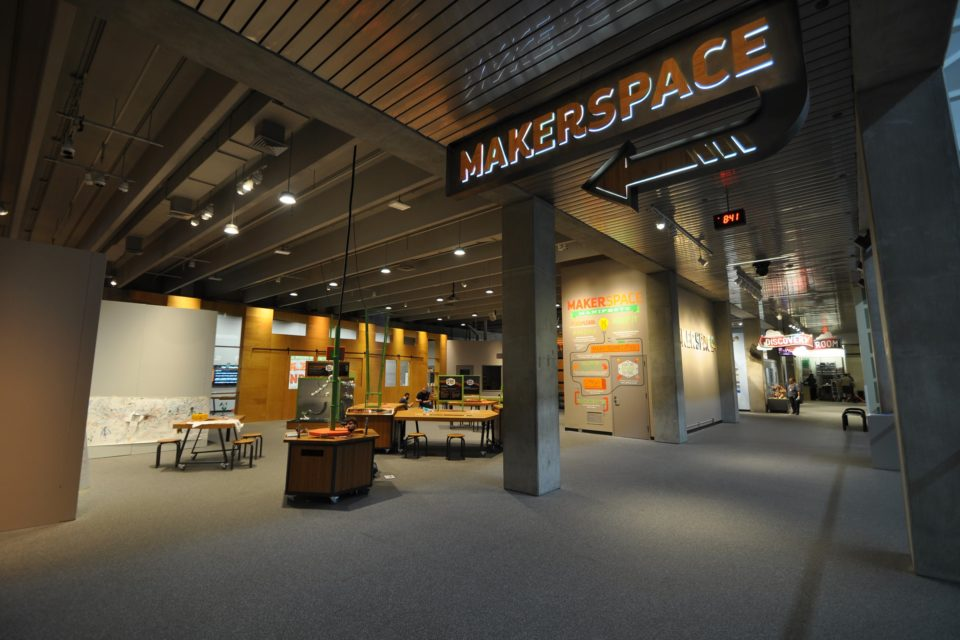 Makerspace Exhibit Entrance