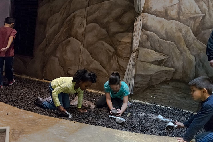 Preschool Science Series Kids Digging in Dirt