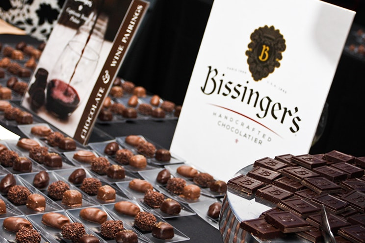 Chocolate at Science Uncorked