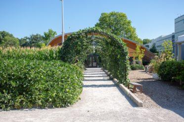 GROW Pavilion exterior