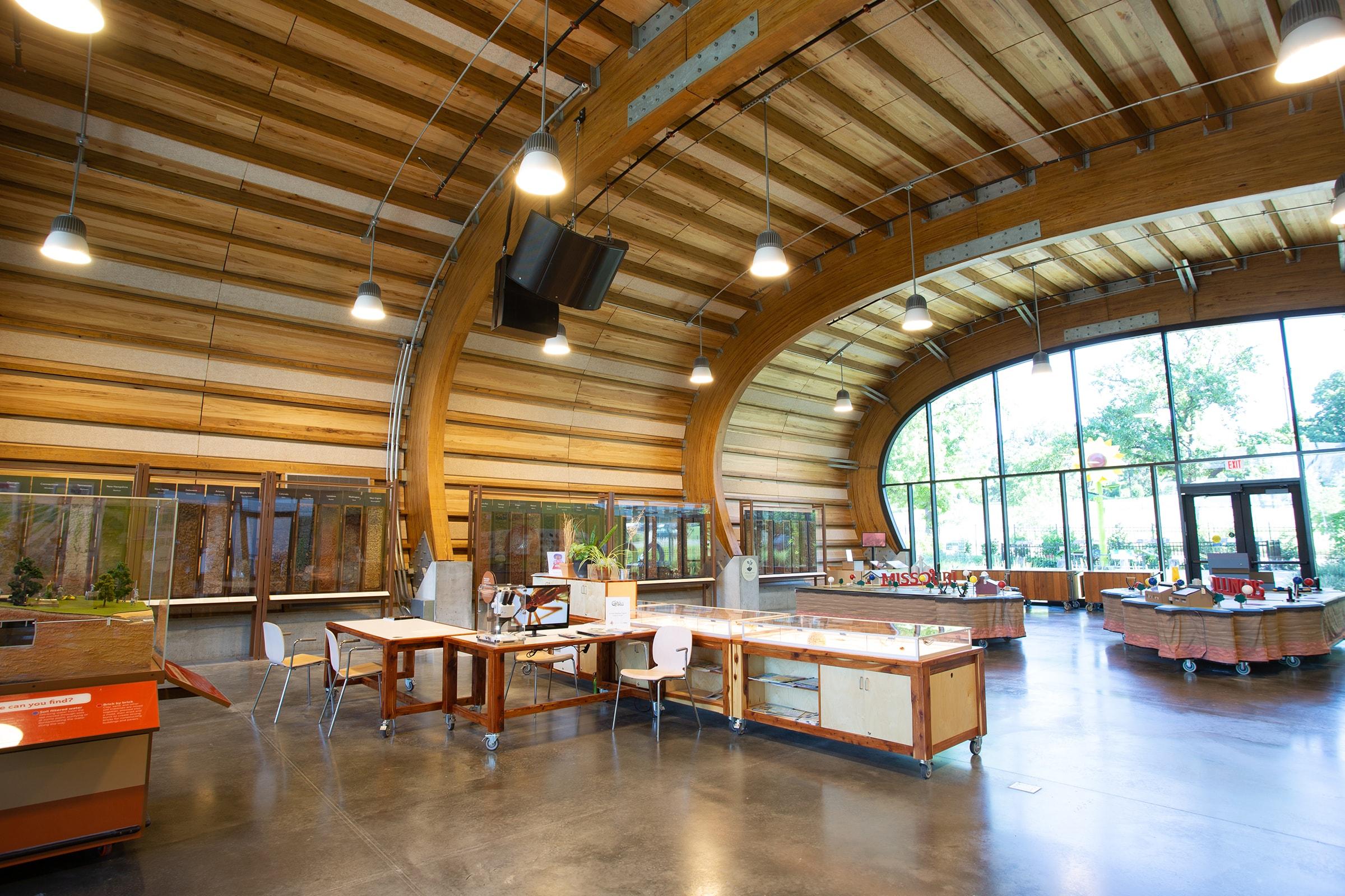 GROW Pavilion Interior