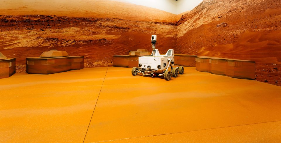 Mission Mars Base Rover
