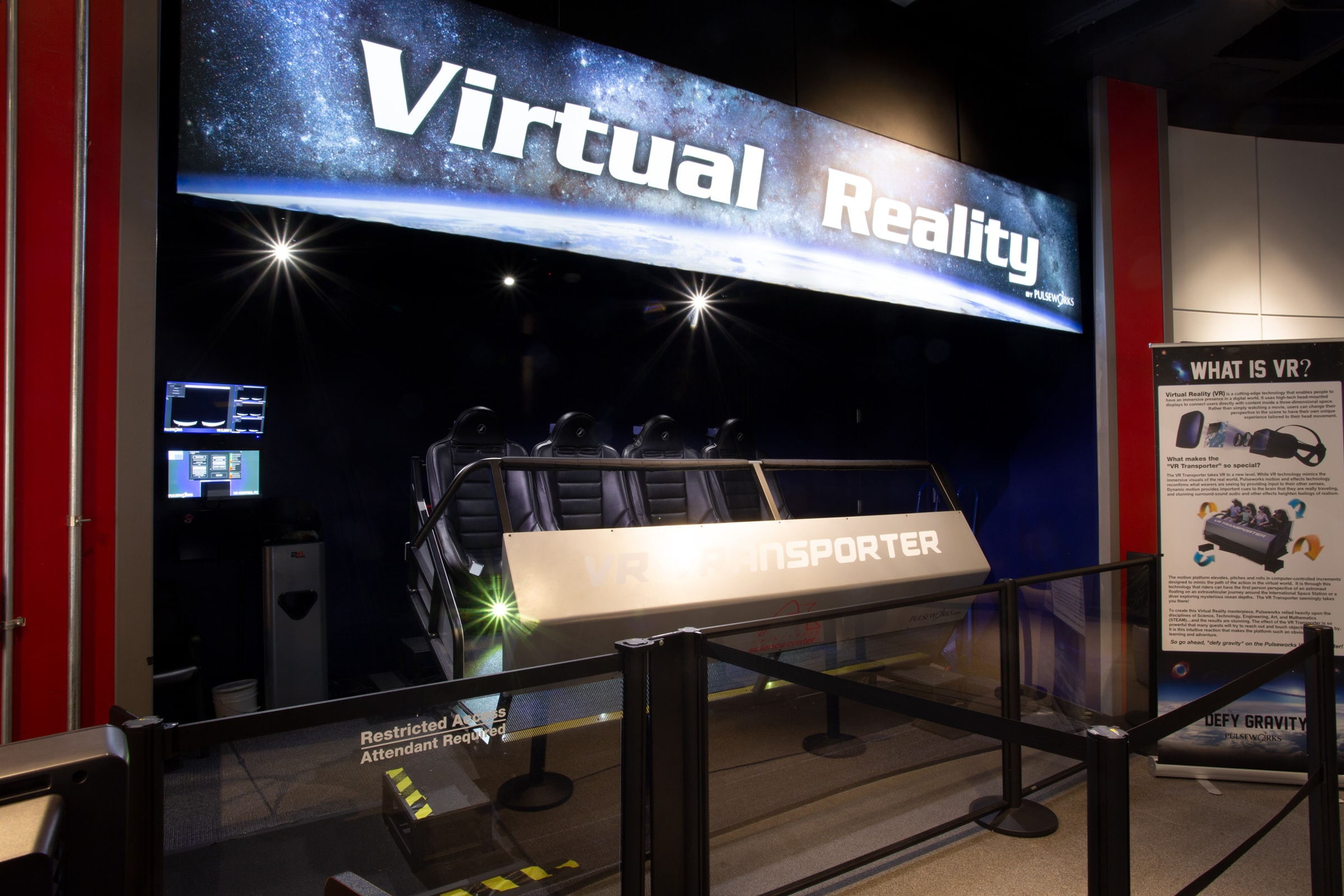 Virtual Reality Transporter – Saint Louis Science Center