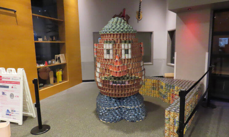 Fun Facts from the Science Center's 2019 CANstruction