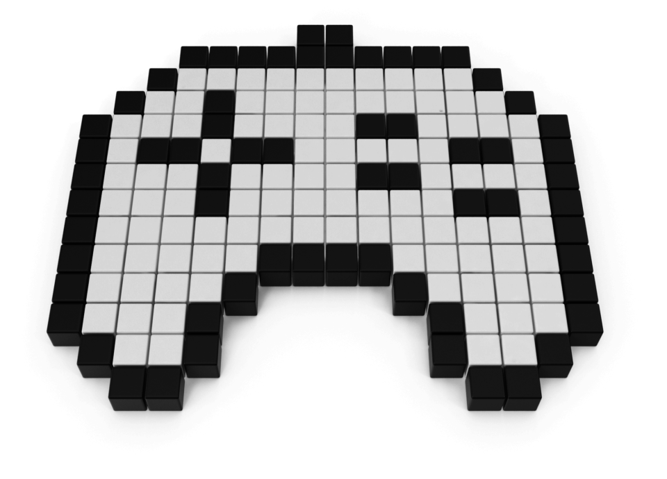 Pixelated Game Pad Icon
