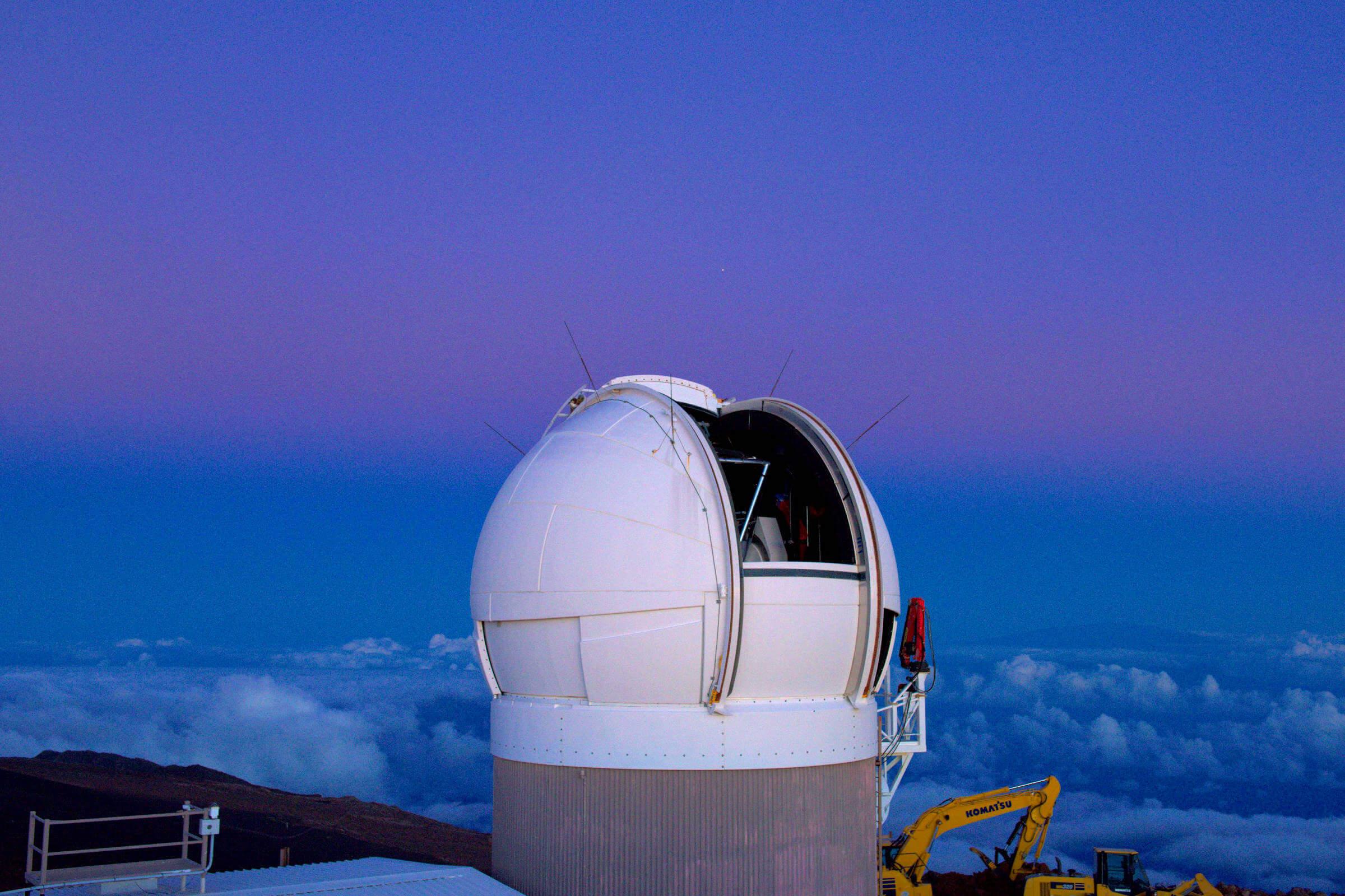 PAN STARRS Telescope in Hawaii