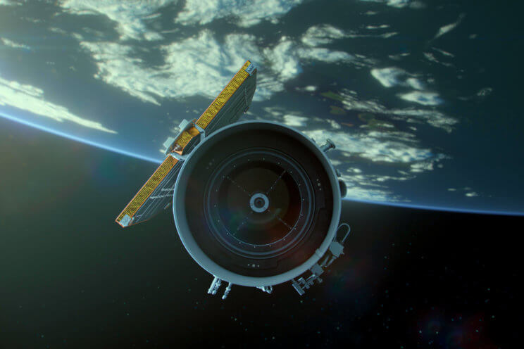 Asteroid Hunters Movie Still - Satellite
