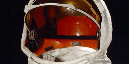 Buzz Aldrin's Extravehicular Visor